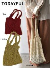 TODAYFUL (トゥデイフル)<br>Sheer Knit Bag  20春夏【12011015】トートバッグ