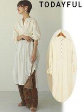TODAYFUL (トゥデイフル)<br>Silk Stitch Dress  20春夏予約【12010305】マキシワンピース