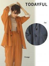 TODAYFUL (トゥデイフル)<br>Vintagesatin Over Jacket  20春夏予約【12010103】ジャケット
