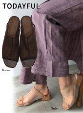TODAYFUL (トゥデイフル)<br>Sheer Piping Sandals  20春夏予約【12011013】サンダル