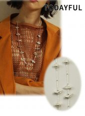 TODAYFUL (トゥデイフル)<br>Motif Beads Necklace  20春夏予約【12010920】ネックレス
