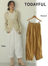 TODAYFUL (トゥデイフル)<br>Washed Wide Pants  20春夏予約【12010709】パンツ