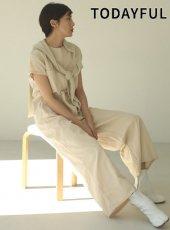 TODAYFUL (トゥデイフル)<br>Cotton Twill Combinaison  20春夏予約【12010313】オールインワン・コンビネゾン