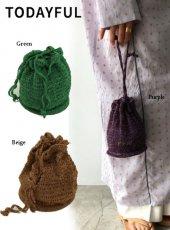 TODAYFUL (トゥデイフル)<br>Knit Mini Purse  20春夏予約【12011011】ハンド・ショルダーバッグ