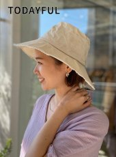 TODAYFUL (トゥデイフル)<br>Parraffin Bucket Hat  20春夏予約3【12011039】帽子