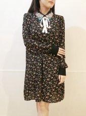 sister jane (シスタージェーン)<br>Kingdom Coven Dress  20春夏【21SJ00DR1170BLK】フレアワンピース
