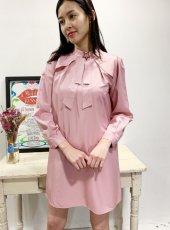 sister jane (シスタージェーン)<br>Stately Shift Dress  20春夏予約【21SJ00DR1181PNK】タイトワンピース