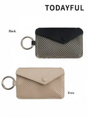 TODAYFUL (トゥデイフル)<br>Leather × Mesh Coincase  19秋冬.【12011026】その他