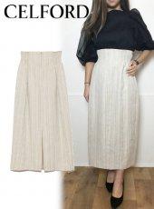 CELFORD (セルフォード)<br>ハイウエストタイトスカート  20春夏【CWFS201064】タイトスカート