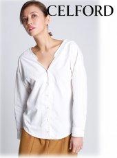 CELFORD (セルフォード)<br>バックカシュクールシャツ  20春夏【CWFB201075】シャツ・ブラウス