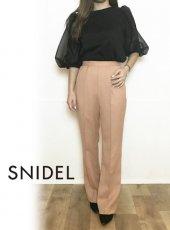 snidel (スナイデル)<br>リネンライクストレートパンツ  20春夏【SWFP201134】パンツ