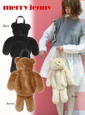merry jenny (メリージェニー)<br>Bear Hanad Bag  20春夏予約【282011900201】ハンド・ショルダーバッグ