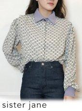 sister jane (シスタージェーン)<br>Link Lily Boxy Shirt  20春夏【21SJ01BL903BGE】シャツ・ブラウス