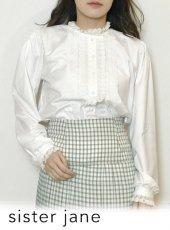 sister jane (シスタージェーン)<br>Lullaby Lace Blouse   20春夏【21SJ01BL908IVO】シャツ・ブラウス