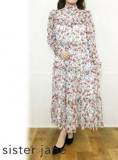 sister jane (シスタージェーン)<br>Darling Bud Midi Dress   20春夏【21SJ01DR1202MUL】マキシワンピース