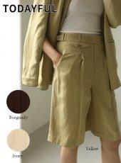 TODAYFUL (トゥデイフル)<br>Gurka Half Pants  20春夏.予約【12010719】パンツ  受注会