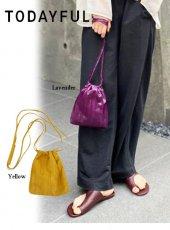 TODAYFUL (トゥデイフル)<br>Leather Mini Pochette 20春夏.【12011036】ハンド・ショルダーバッグ