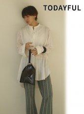 TODAYFUL (トゥデイフル)<br>Jacquard Dress Shirts  20春夏.予約【12010431】シャツ・ブラウス  受注会