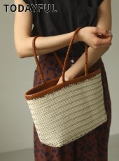 TODAYFUL (トゥデイフル)<br>Leather Tote Bag  20春夏.予約【12011062】トートバッグ  受注会