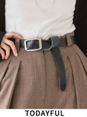 TODAYFUL (トゥデイフル)<br>Vintage Leather Belt  20秋冬2【12011063】その他