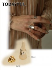 TODAYFUL (トゥデイフル)<br>Combination Ring (Silver925)  20春夏.【12010952】リング