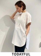 TODAYFUL (トゥデイフル)<br>Halfsleeve Dress Shirts  20春夏.予約【12010421】シャツ・ブラウス  受注会