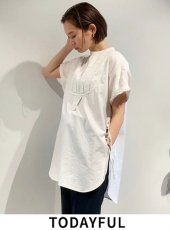 TODAYFUL (トゥデイフル)<br>Halfsleeve Dress Shirts 20春夏.【12010421】シャツ・ブラウス