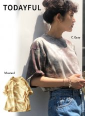 TODAYFUL (トゥデイフル)<br>Tie-dye T-Shirts  20春夏.予約2【12010632】Tシャツ