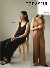 TODAYFUL (トゥデイフル)<br>Silk100% Combinaison  20春夏.予約【12010330】オールインワン・コンビネゾン  受注会