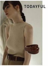 TODAYFUL (トゥデイフル)<br>Leather Backle Belt  20春夏.【11911081】その他
