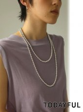 TODAYFUL (トゥデイフル)<br>Long Beads Necklace  20春夏.予約【12010901】ネックレス  受注会
