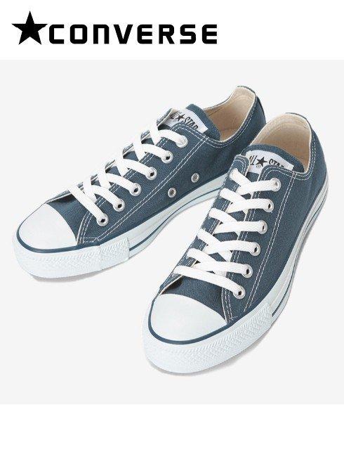 converse(コンバース)<br>キャンバスオールスターOX  ネイビー ローカット  .【32160325】スニーカー