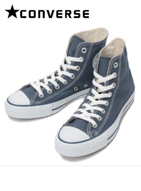 converse(コンバース)<br>キャンバスオールスターHI ネイビー  ハイカット  .【32060185】スニーカー