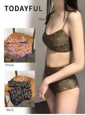 TODAYFUL (トゥデイフル)<br>Flower Pattern Bikini  20春夏.【12011056】水着 20es