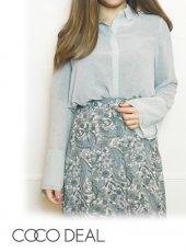 COCODEAL (ココディール)<br>シアースキッパーシャツ  20春夏.【70218220】シャツ・ブラウス