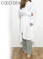 COCODEAL (ココディール)<br>コットンヘンリーオーバーシャツ  20春夏.【70218281】シャツ・ブラウス