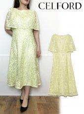 CELFORD (セルフォード)<br>スパンコール刺繍ドレス  20春夏.【CWFO202056】フレアワンピース