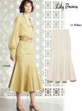 Lily Brown (リリーブラウン)<br>オックスマーメイドスカート  20春夏.【LWFS202088】タイトスカート
