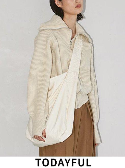 TODAYFUL (トゥデイフル)<br>Typewriter Shoulder Bag  21秋冬予約2【12021017 12121004】トートバッグ 入荷予定 : 9月中旬〜