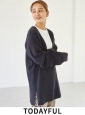 TODAYFUL (トゥデイフル)<br>'Washed Vneck Knit'  20秋冬予約2【12020518】ニットトップス