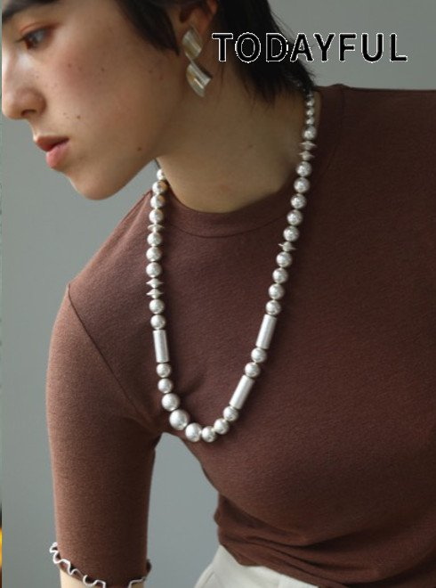 TODAYFUL (トゥデイフル)<br>Vintage Mix Necklace  20秋冬【12020930】ネックレス