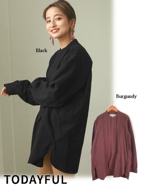 TODAYFUL (トゥデイフル)<br>'Tuck Dress Shirts'  20秋冬予約2【12020403】シャツ・ブラウス 入荷時期:2月中旬~