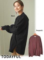 TODAYFUL (トゥデイフル)<br>Tuck Dress Shirts  20秋冬【12020403】シャツ・ブラウス