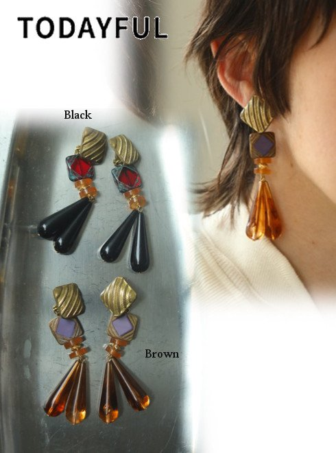 TODAYFUL (トゥデイフル)<br>Vintage Parts Earring  20秋冬予約【12020927】ピアス・イヤリング