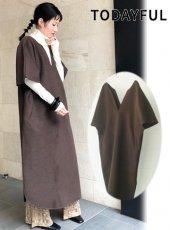 TODAYFUL (トゥデイフル)<br>Caftan Wool Dress  20秋冬【12020309】マキシワンピース