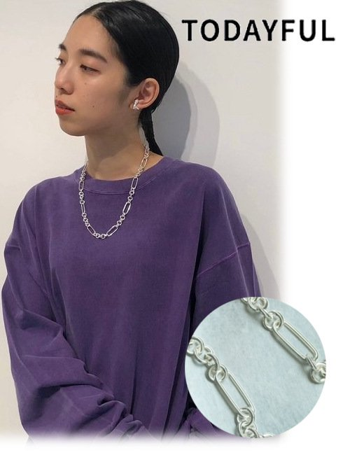 TODAYFUL (トゥデイフル)<br>Mix Chain Necklace  20秋冬予約2 【12020920】ネックレス 入荷予定 : 11月中旬〜