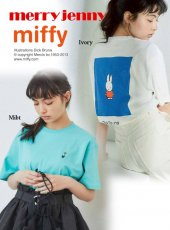 merry jenny (メリージェニー)<br>スクエアmiffyTシャツ 20春夏.【282042710001】Tシャツ 20es