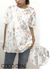 COCODEAL (ココディール)<br>タイダイプリントTシャツ  20秋冬【70521408】Tシャツ