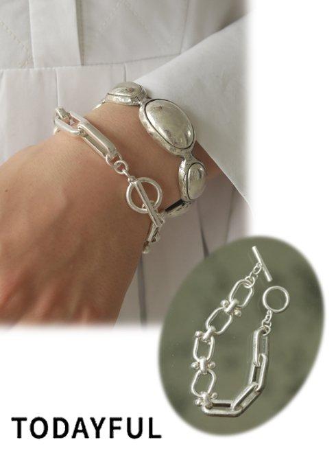 TODAYFUL (トゥデイフル)<br>Mix Chain Bracelet  20秋冬.【12020924】ブレスレット・アンクレット