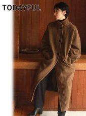 TODAYFUL (トゥデイフル)<br>Wool Raglan Coat  20秋冬.【12020011】ウールコート 冬受注会